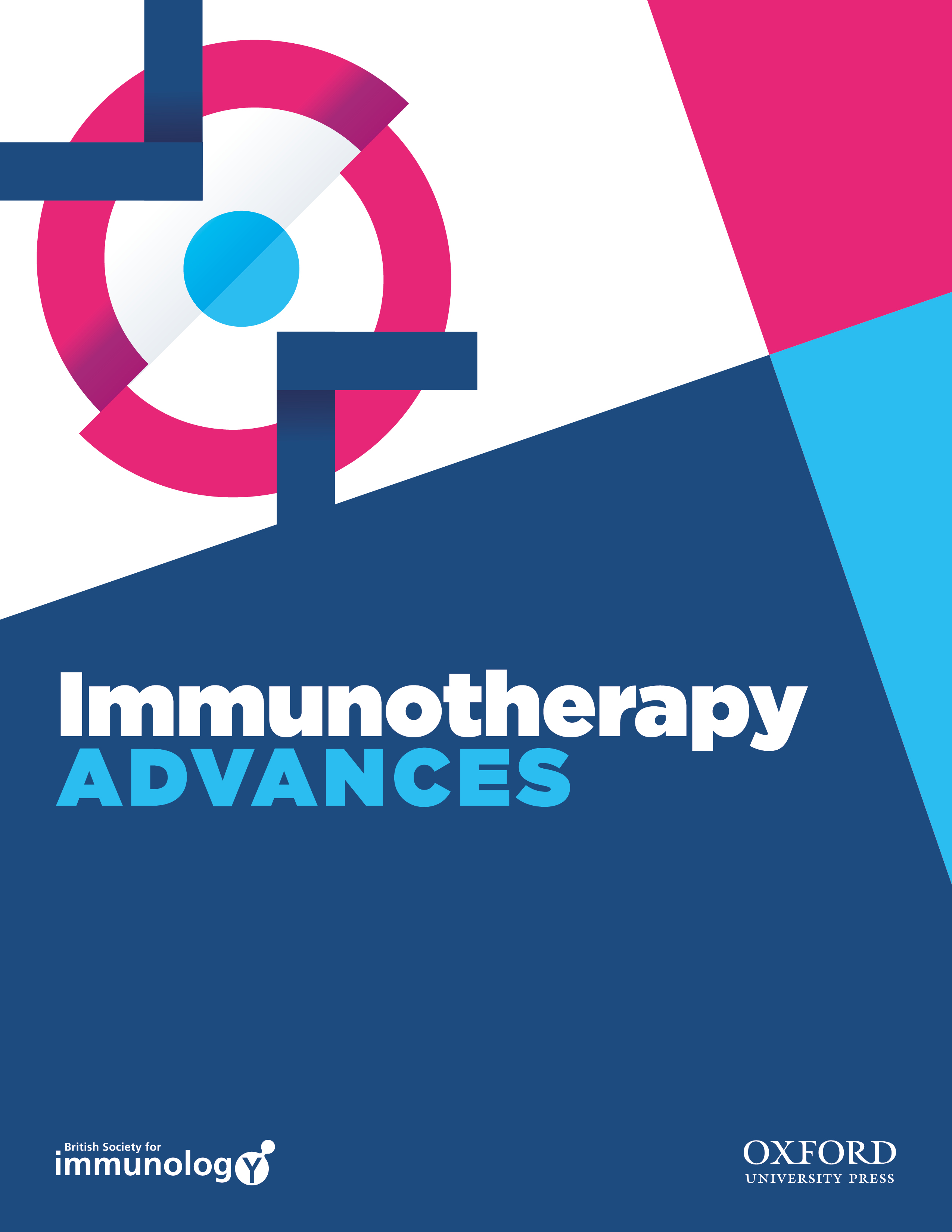 Immunotherapy Advances journal front cover.