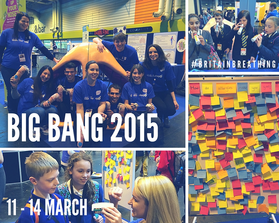 Exhibits and participants at Big Bang 2015