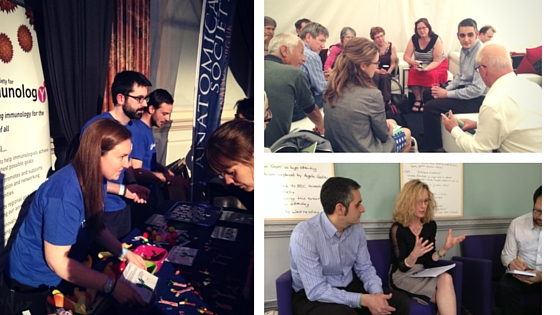 Speakers, discussion groups and delegates at Cheltenham Science Festival