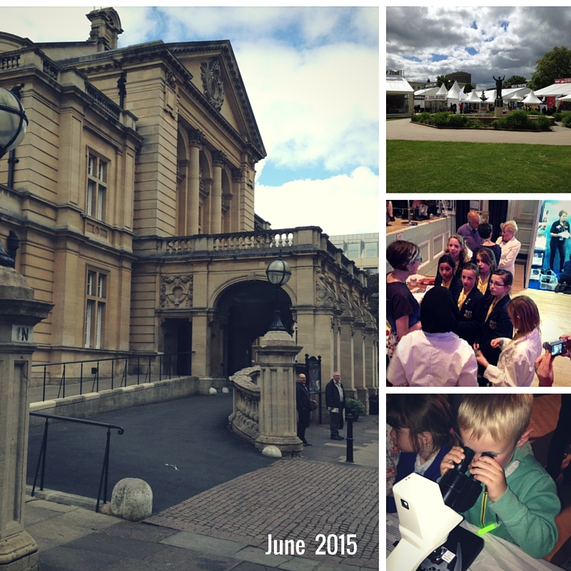 Exhibits and participants at Cheltenham Science Festival 2015
