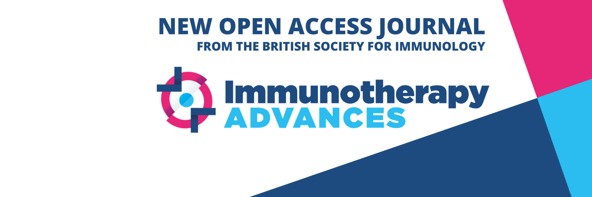 New Open Access journal from the BSI called Immunotherapy Advances